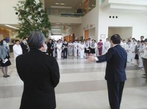 石川県の医療機関を訪問の写真