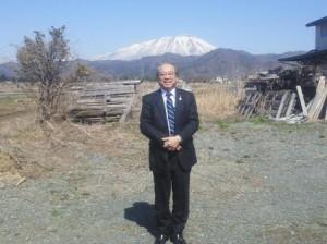 岩手山と羽生田たかしの画像