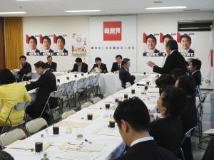 0331政調、国家戦略特区関係部会等・日本経済再生本部合同会議  (10)