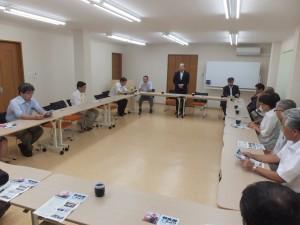 徳島訪問 鳴門市医師会