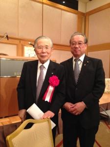 内藤哲夫先生の米寿を祝う会