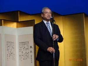 東京医大勝村教授退任式