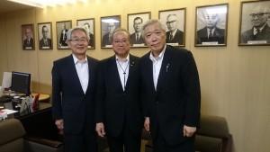 日本病院会政治連盟訪問