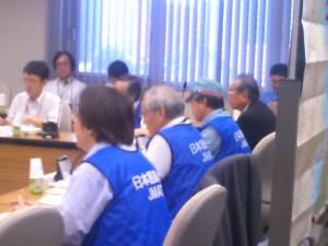 南海トラフ大震災を想定した衛生利用実証実験(防災訓練)2015