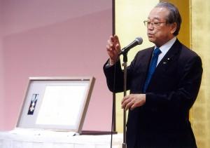 150829伊東洋先生瑞宝中綬章受章を祝う会 (2)