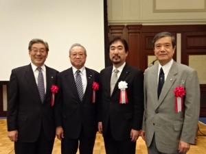 福岡市博多区医師会創立40周年記念祝賀会