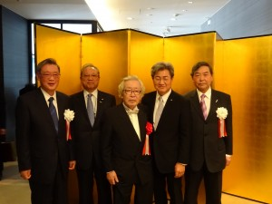 高谷雄三先生旭日小綬章受章記念祝賀会