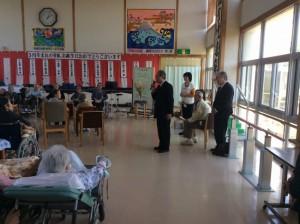 秋田県訪問