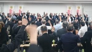 東京都医師政治連盟出陣式