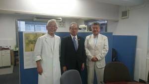 燕市医師会古川会長・小澤先生
